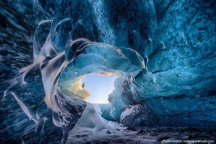 glacier cave