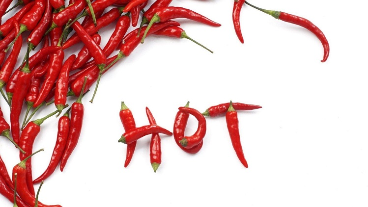 chili peppers hot