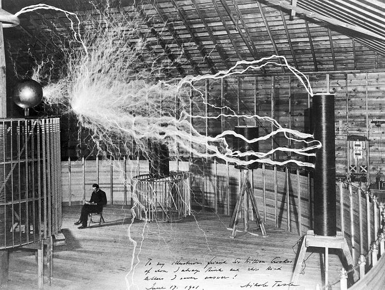 tesla experimental station
