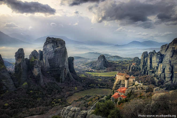 Meteora`s monastery