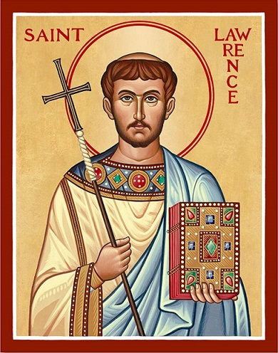 St Lawrence icon