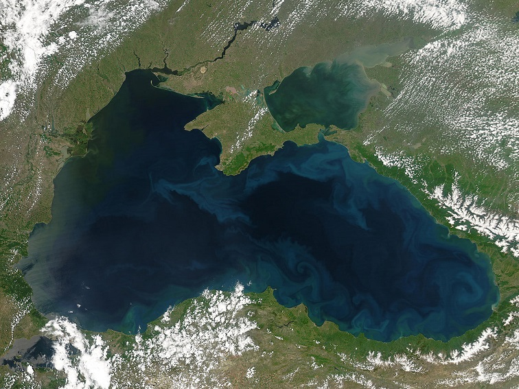 black sea NASA