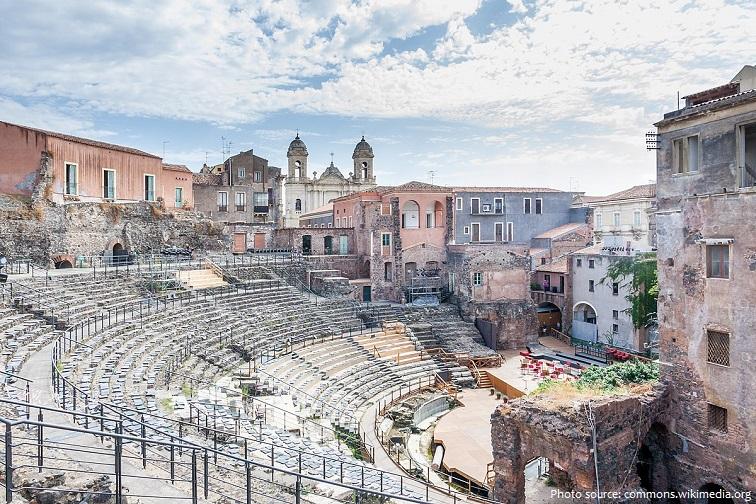 amphitheatre of catania