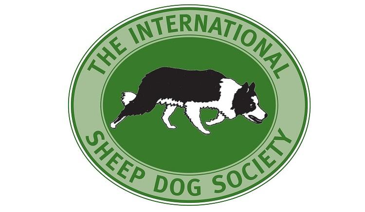 international sheep dog society badge