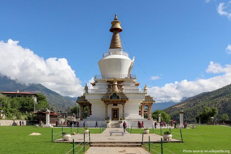 memorial stupa thimphu