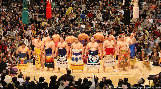 Information about Japanese Sumo Wrestling