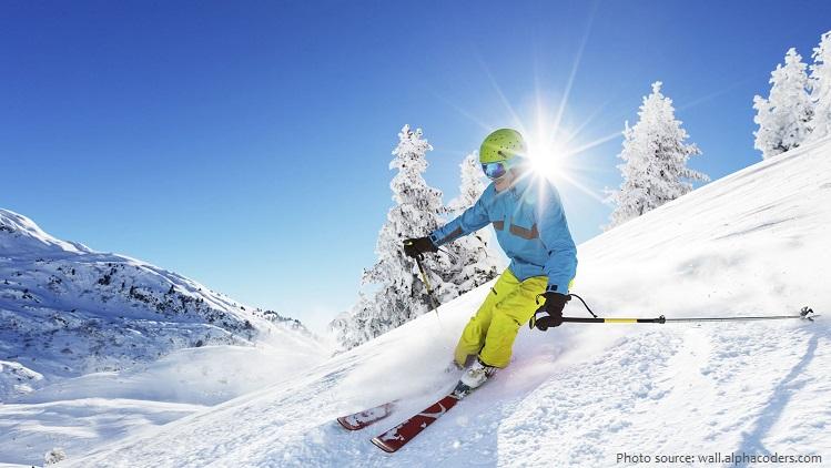 recreational downhill skiing