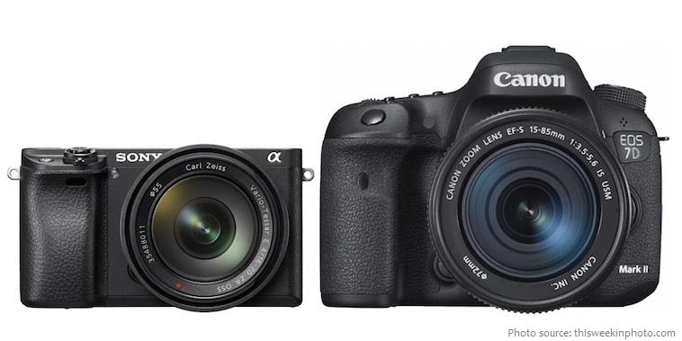 dslr mirrorless cameras